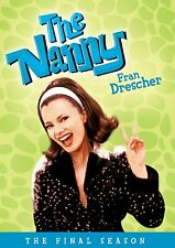 THE NANNY: THE FINAL SEASON 4 (Fran Drescher) - DVD - Region 1 Sealed