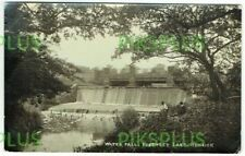 POSTCARD WATERFALL FINCHLEY LANE HENDON MIDDLESEX REAL PHOTO VINTAGE USED 1920