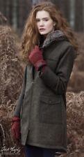Jack Murphy Ladies Jen Tweed Luxury Shetland Wool Parka Coat Size10 12 14