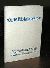 """T443_LA BEATA MARIA ASSUNTA """"DIO HA FATTO TUTTO PER ME"""" - 1958"""