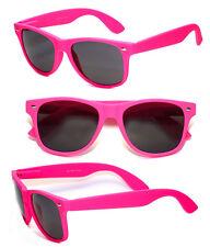 Retro Classic Square Frame Sunglasses UV400 - Matte Pink WF12
