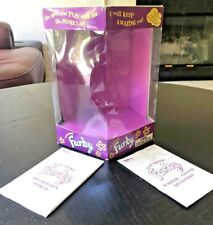 FURBY Box Only With Instructions & Furbish/English Dictionary 1999