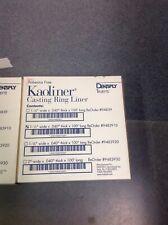 dental lab kaoliner casting ring liner dentsply asbestos free #9483010