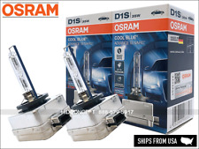 6000K OSRAM Xenarc COOL BLUE ADVANCE D1S HID XENON Bulbs 35W GERMANY 66140CBA