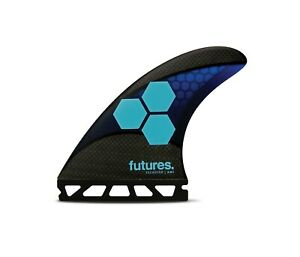 Future Fins AM1 Tech Flex Surfboard Fins AL Merrick CI Model – Blue (Medium)