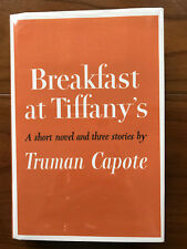 Breakfast At Tiffany's, by Truman Capote -1958 -1st Ed. 1st Prtg, Vtg. H/C Book