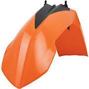 garde boue avant  POLISPORT orange  KTM   SX  65   2009-2011