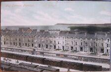 Irish Postcard GOLF TERRACE Portrush Railway Cars Northern Ireland Valentine