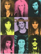 VINTAGE 1989 DiMarzio GUITAR PICKUP CATALOG! BILLY SHEEHAN/RICHIE KOTZEN/& MORE!