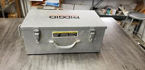"EMPTY Ridgid MegaPress 1/2 to 2"" Jaw & Ring Kit Metal EMPTY Storage Box."