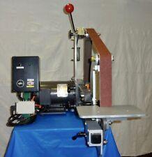 "Knife Making: 1.5hp Variable Speed 1""-2"" x 72""/60"" Multi Belt Sander System"