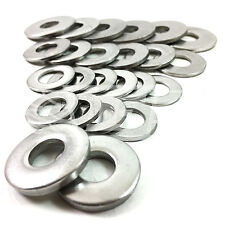 A2 & A4 STAINLESS M3 M4 M5 M6 M7 M8 M10 FORM A B C G WASHERS HEAVY THICK BLACK