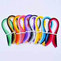 100Pcs 5mm Candy Color Paper Quilling Strips for DIY Handmade Craft Project