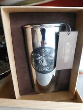 Starbucks Travel Mug Cup 2016 12 oz @ 1st Store Pike Place ONLY Chrome - BNIB