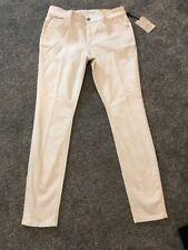 M&S Indigo Collection ECRU  Skinny Jeans Size 12 Medium BNWT Free Sameday P&p