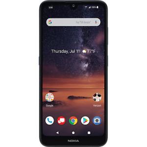 Verizon Wireless - Nokia 3V Prepaid Smartphone 16GB Memory, Blue - Brand New