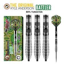 SHOT DARTS KYLE ANDERSON BATTLER 25 GRAM STEEL TIP DARTS - 80% TUNGSTEN