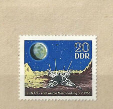 DDR  MI. 1168,   postfr., , 1966,  Mondlandung Luna 9