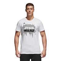 Adidas CE2204 Men Athletics Star Wars Logo Casual White (CHRISTMAS GIFT) Medium