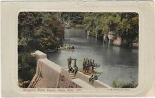 NZ WANGANUI WATER SUPPLY OKEHU DAM REAL PHOTO POSTCARD