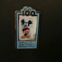 DLR - One Hundred Mickeys Pin Series MM 069 Blue Blush LE 3500 Disney Pin 13647