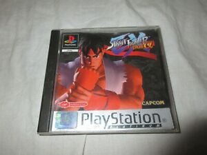 Street Fighter EX Plus Alpha (PS1)  Manual included