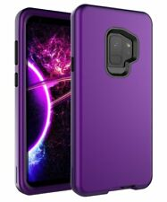 Galaxy S9 Case, Heavy Duty 3-Layer Hybrid Anti-Shock High Impact Resistant Case
