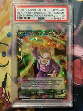 Dragon Ball Super 5 Miraculous Revival BT5-65 Deadly Defender Android 18 PSA 10