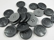 ARAN COAT JACKET SEWING BUTTONS UPHOLSTERY BUTTONS 4 HOLE 50 X 23mm