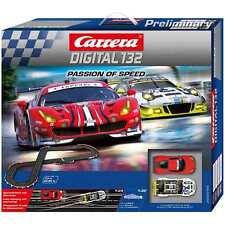 Carrera 30195 Digital 132 Set Passion of Speed Nuovo/Scatola Originale