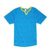VOLCOM Mens S/S Graphic Surf Skate Street Tee V Neck Shirt Blue NWT/NEW S M L XL