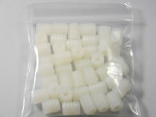 (40)  8 MM PLASTIC DOWEL INSERTS FOR BLUM HINGES