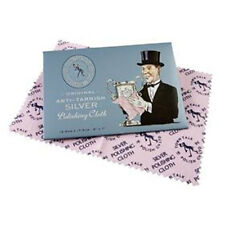 Town Talk Silver Jewellery Anti Tarnish Polishing Cleaning Cloth - Various Sizes