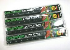 4 Large Super Bright 12 volt Red LED Waterproof Accent Light Strips