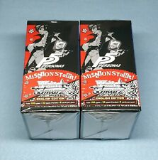 2x English Weiss Schwarz P5 Persona 5 20 Pack Booster Boxes New Sealed