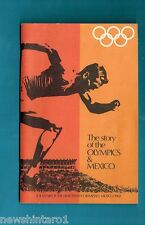 #T40, 1968 WOOLWORTHS MEXICO OLYMPIC BOOK WITH STICKERS IN PLACE