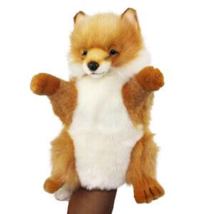 HANSA FOX REALISTIC STUFFED ANIMAL PLUSH SOFT PUPPET TOY 30cm H **NEW**