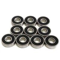 10pcs high performance 8x22x7mm ball bearings 608-2RS 608RS Z R-228HH C9F3