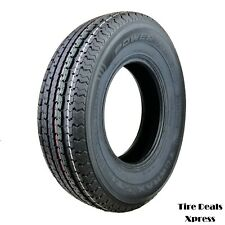 2 (Two) New St225/75R15 Power King Towmax Strii (E) Trailer Tires 2257515 Max53T