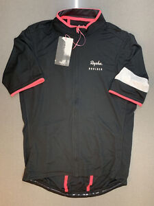 Rapha Club House Boulder Super Lightweight Jersey Black Large Brand New With Tag