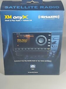 Sirius XM Satellite Radio XM Onyx XDNX1V1 Vehicle Kit - NEW Factory Sealed!!