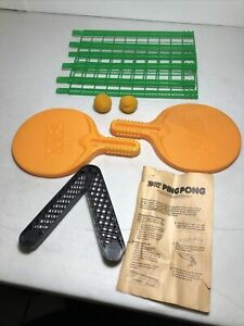 Vintage 1987 Parker Brothers Model# 0304 Official NERF Ping Pong Table Game