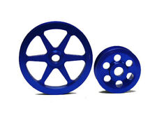 OBX Overdrive Pulley Kit for 2001-03 Acura CL TL-S 3.2L Blue
