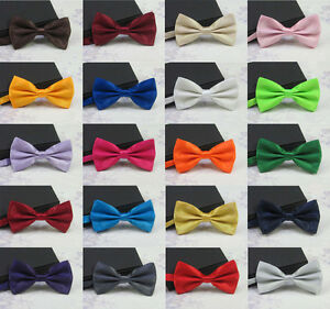Men's Fashion Pre-tied Butterfly Bowtie for Wedding, Party, Prom Fancy  Necktie