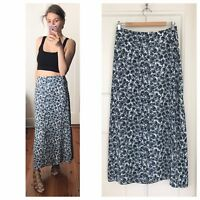 Vintage Floral Maxi Made In Australia Skirt Sz S