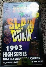 1993 Upper Deck Slam Dunk High Series Basketball - Red Jumbo - Factory Sealed