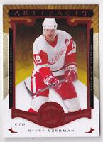15-16 Artifacts Steve Yzerman /399 RUBY Red Wings 2015