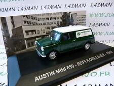 voiture 1/43 Altaya IXO ITALIE : AUSTIN Mini 850 break Bepi Koelliker 1968