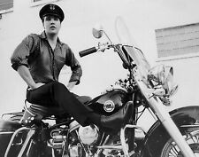Elvis Presley / Harley Davidson Motorcycle 8x10 photo