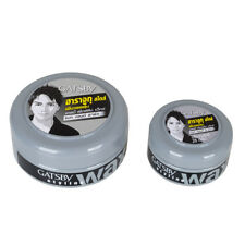 25/75 ML Gatsby Mat & Hard Harajuku Style Hair Styling Wax Grey Jar -Choose Size